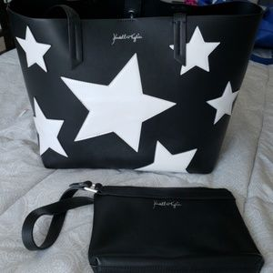 Kendall and Kylie tote with wristlet